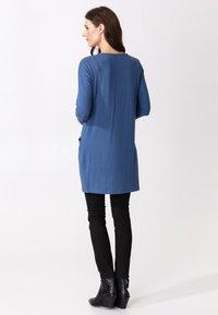 Indiska - LINDEN - Jersey dress - blue - 2