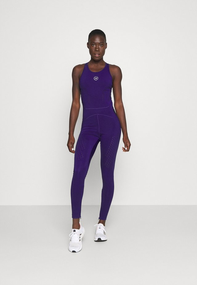 TRUEPUR ONE - Kombinezon gimnastyczny - collegiate purple