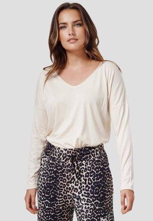 NOELLE - Long sleeved top - new beige