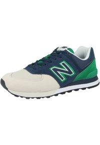 New Balance - SCHUHE ML 574 - Trainers - natural indigo/hula green - 2