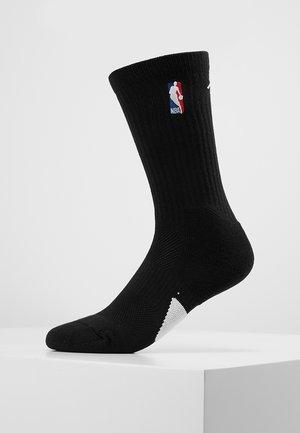 CREW NBA - Sports socks - black/white