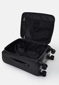 Love Moschino - Wheeled suitcase - black - 3