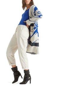 Marc Cain - Classic coat - atlantic blue - 4