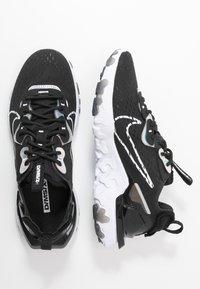 Nike Sportswear - REACT VISION - Trainers - black/white - 3