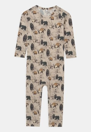 NBMNICLAS UNISEX - Pyjamas - peyote melange