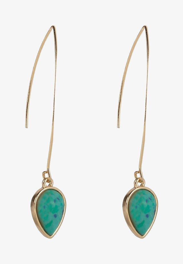 Øreringe - turquoise