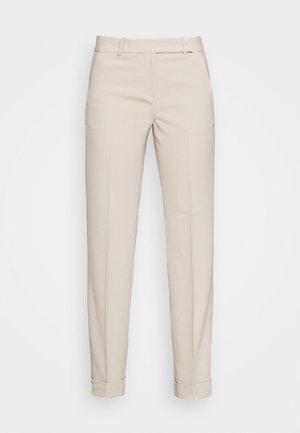 STRAIGHT LEG CUFF PANT - Trousers - dune