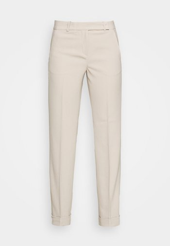 STRAIGHT LEG CUFF PANT - Bukse - dune