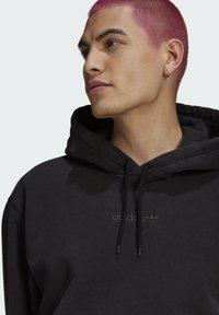 adidas Originals - DYED HOODY ORIGINALS SWEATSHIRT HOODIE - Sweat à capuche - black - 4