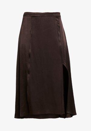 EDITA SKIRT - A-line skirt - chocolate torte