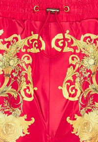 Versace Jeans Couture - PRINT BAROQUE - Tracksuit bottoms - red - 7