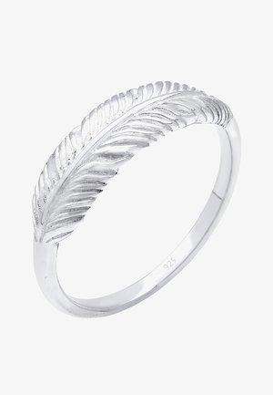 FEDER - Ring - silberfarben