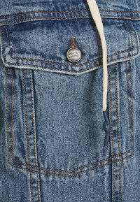 Sixth June - DENIM JACKET WITH SHERPA LINING AND HOOD - Spijkerjas - blue/grey - 2