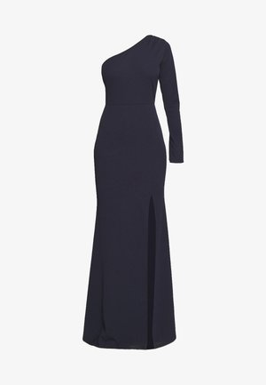 ONE SHOULDER MAXI DRESS - Occasion wear - navy blue
