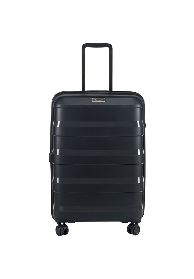 STRAW 4-ROLLEN TROLLEY  - Wheeled suitcase - black