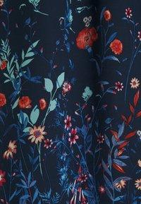 Esprit Collection - PRINT FLOWER - Maxi dress - navy - 5