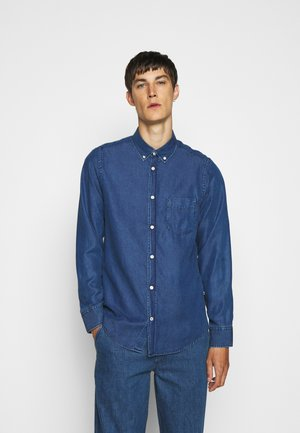 MANZA SLIM  - Shirt - dark indigo