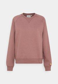 Carhartt WIP - CHASE - Sweatshirt - malaga/gold - 4