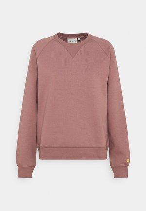CHASE - Sweatshirt - malaga/gold