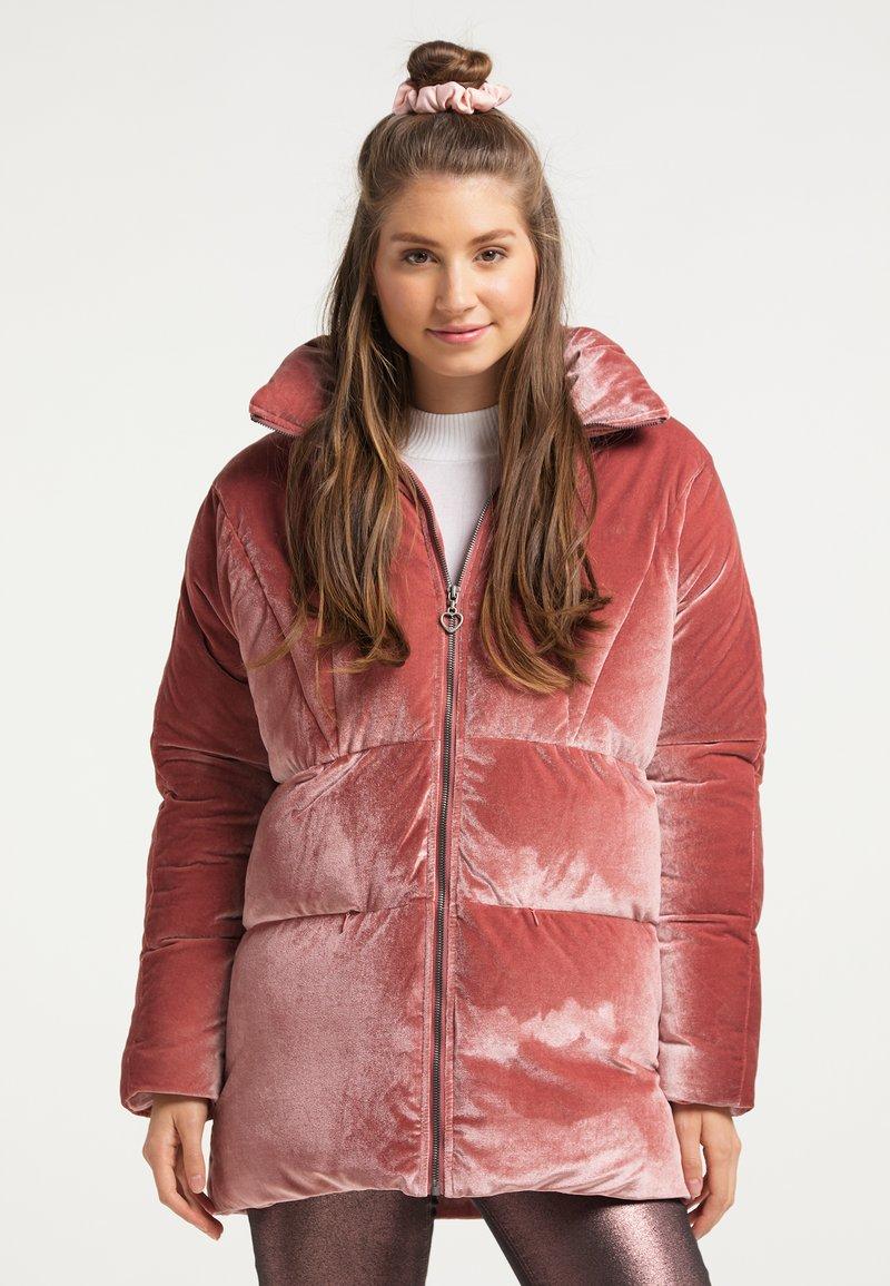 myMo - Winter jacket - altrosa