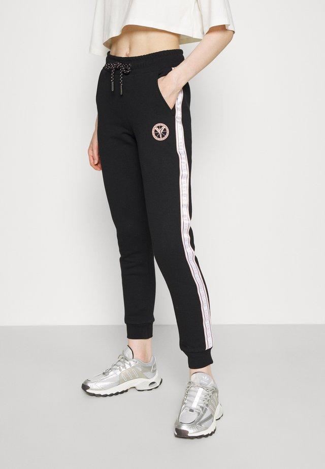 BASIC PANT - Teplákové kalhoty - black