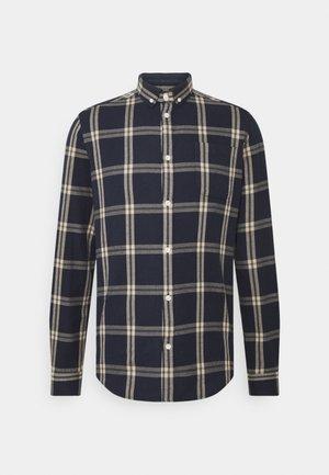 JASPER CHECK - Camicia - blue/white