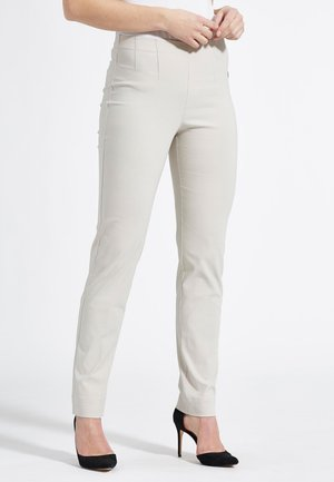 Trousers - grey sand
