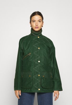 ALEXA CHUNG X BARBOUR CARMEN - Krótki płaszcz - wild green/muted