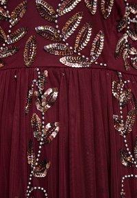 Lace & Beads Curvy - ATLANTIS MAXI - Occasion wear - burgundy - 5