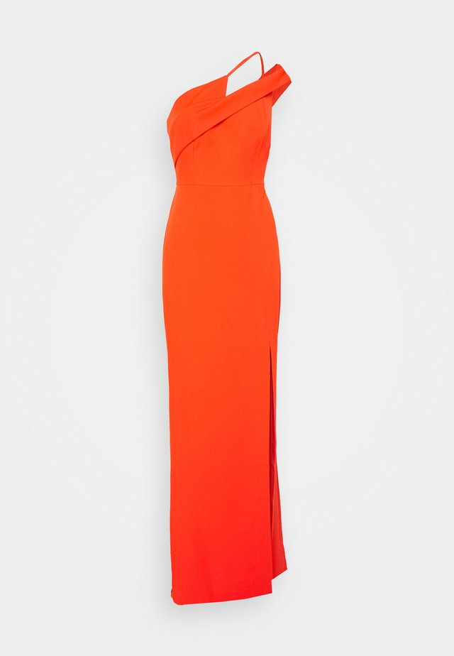 EVE DRESS - Galajurk - open orange