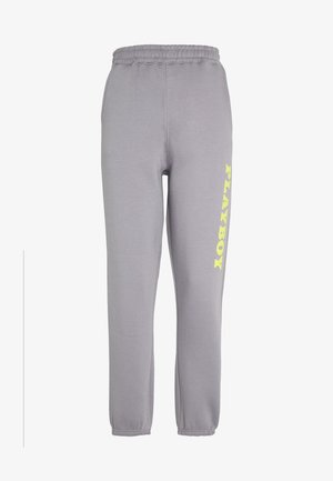 PLAYBOY 90S OVERSIZED JOGGER - Tracksuit bottoms - charcoal