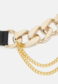 Pieces - PCALIYA WAIST BELT - Waist belt - black/gold-coloured - 2