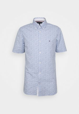 SOFT MINI FLORAL PRINT - Shirt - pebble blue