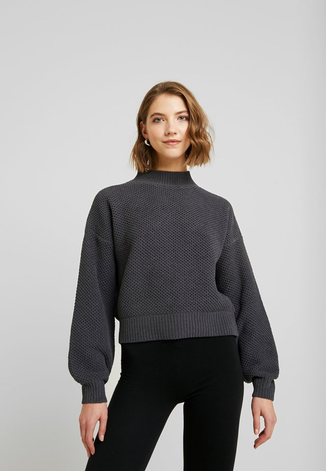 MATTE MOCK - Pullover - dark grey