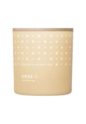 SCENTED CANDLE WITH LID - Scented candle - lykke