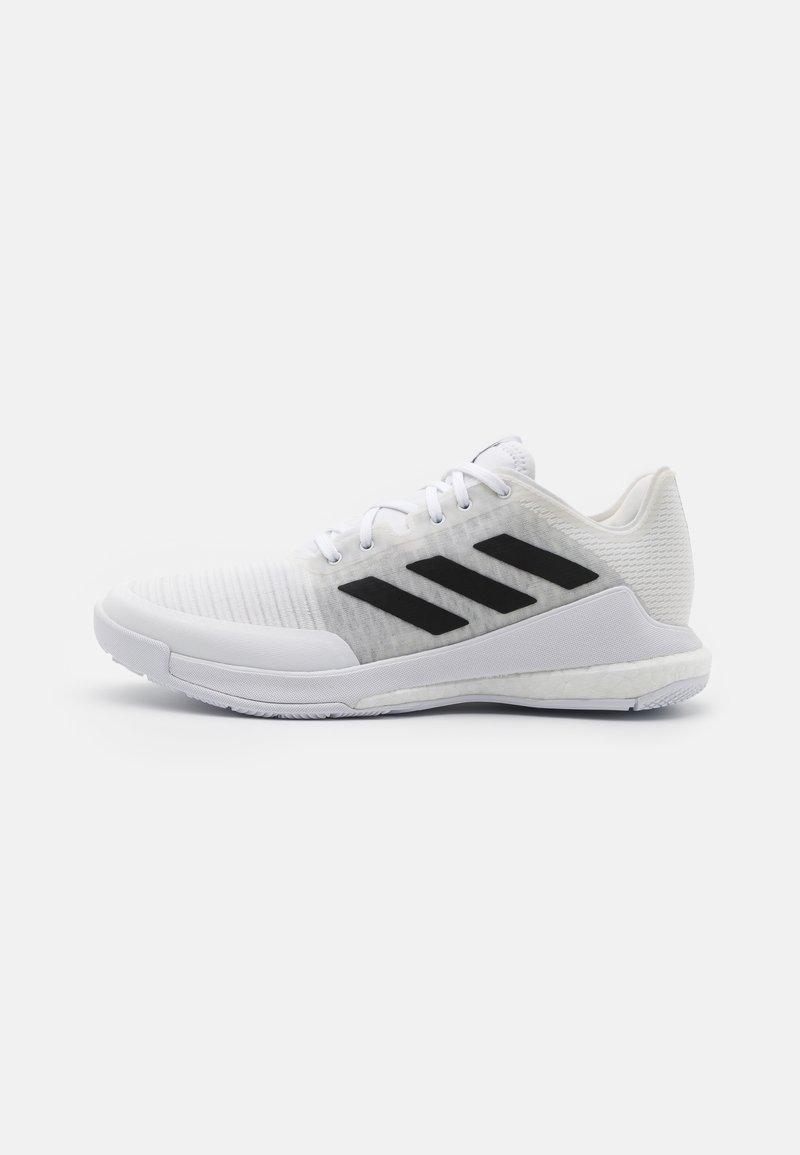 adidas Performance - CRAZYFLIGHT - Lentopallokengät - footwear white/core black/grey two