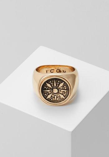 VASCO SIGNET - Ring - gold-coloured