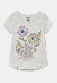 OshKosh - TIER GRAPHIC - Print T-shirt - heather - 0