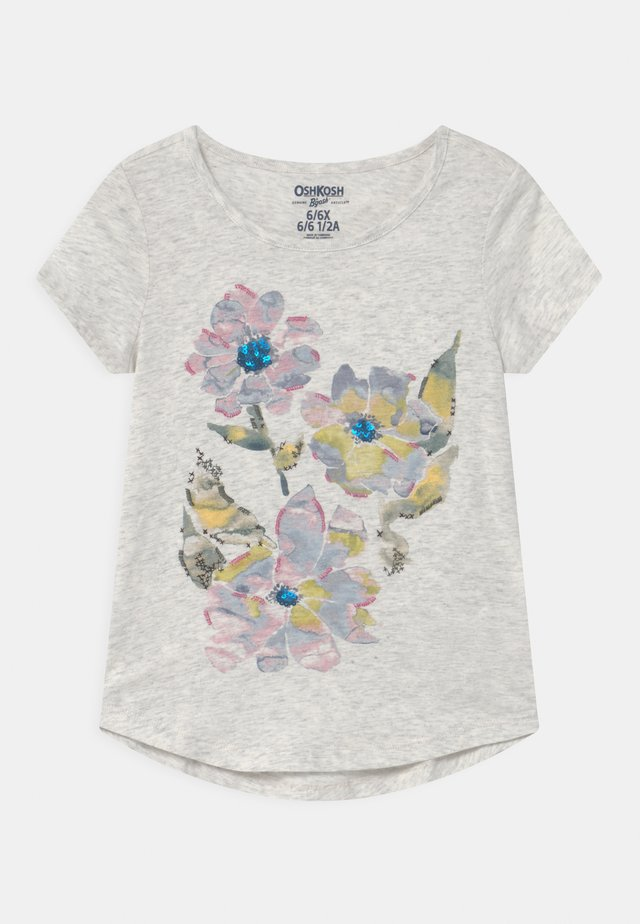 TIER GRAPHIC - T-Shirt print - heather