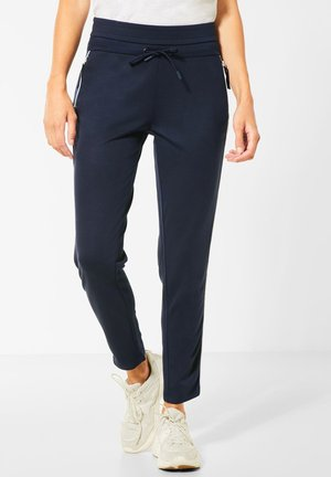 LEO-GALON - Tracksuit bottoms - blau