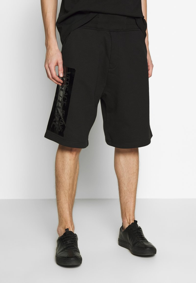 Versace Jeans Couture - LOGO - Pantalon de survêtement - black
