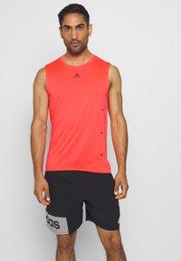 adidas Performance - ADIZERO HEAT.RDY SPORTS RUNNING SINGLET TANK - T-shirt sportiva - sigpnk - 0