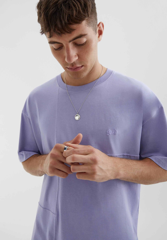 Uomo MIT AUFGESTICKTEM STWD-LOGO - T-shirt basic