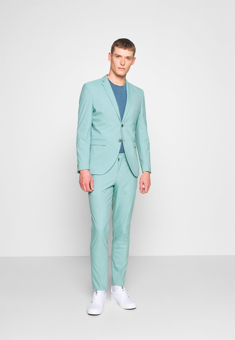 Selected Homme - SLHSLIM MYLOLOGAN - Suit - green milieu
