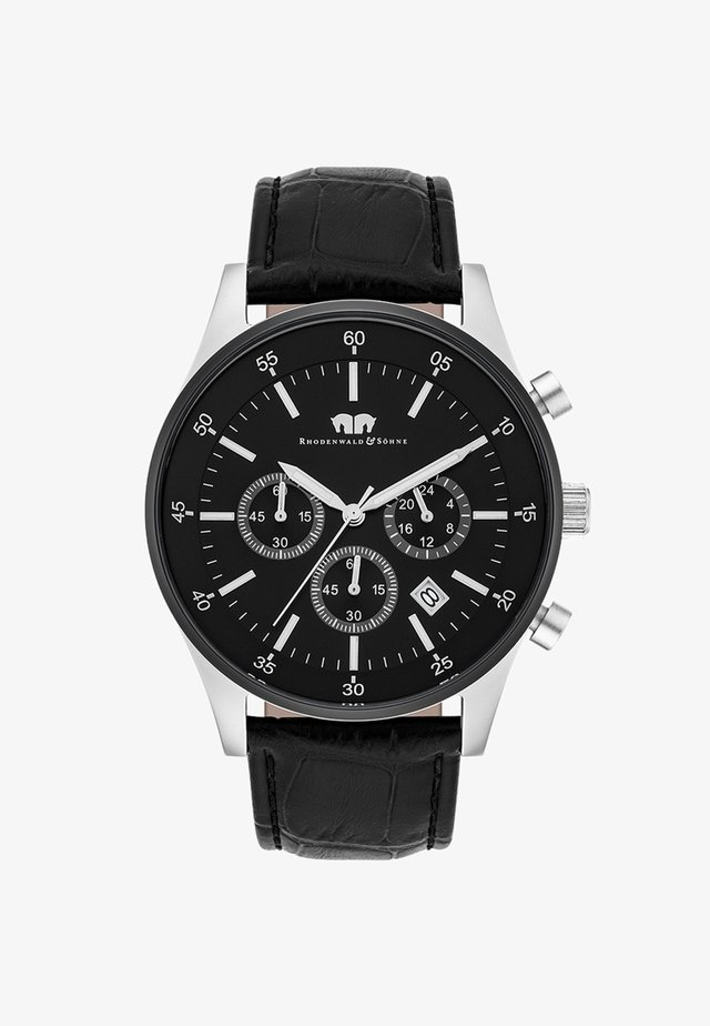 GOODWILL - Chronograph watch - black/silver