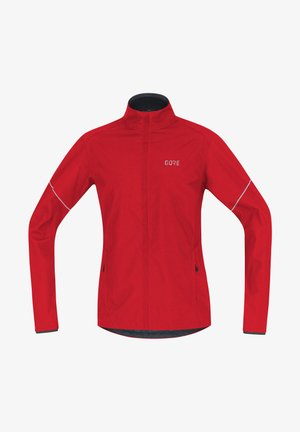 Fleece jacket - red