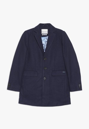 CLASSIC COAT IN BONDED QUALITY - Winter jacket - blue