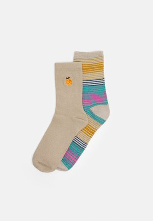 MIX SOCK 2 PACK - Socks - oystergray/silvergray