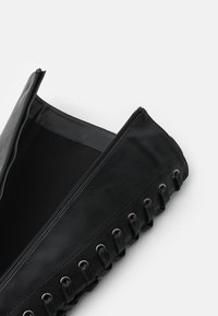 Even&Odd Wide Fit - Platform boots - black - 5