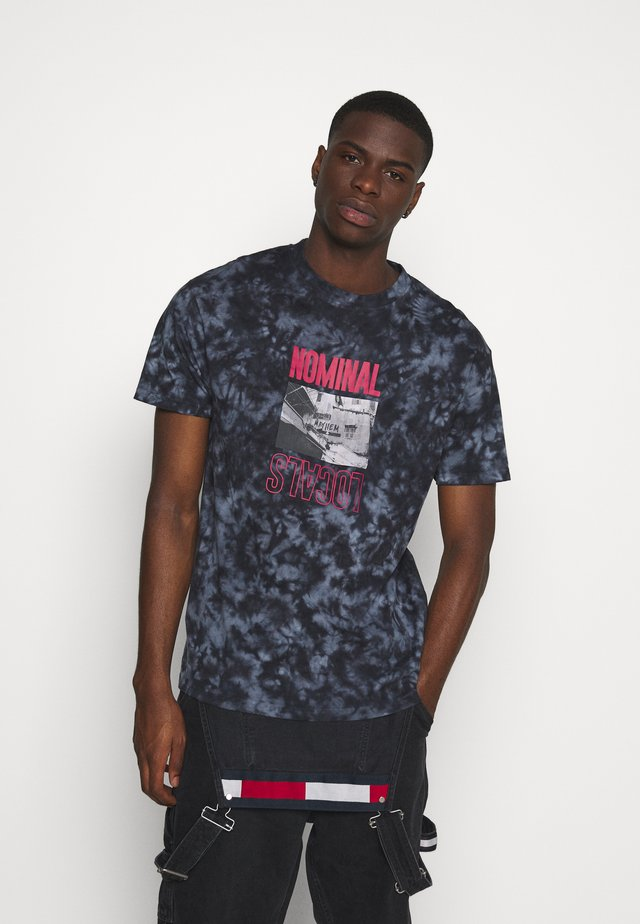 LOCALS TEE - T-shirt con stampa - blue
